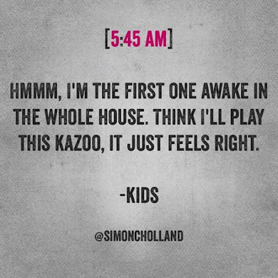 kid alone with kazoo, only one awake kazoo, funny kids