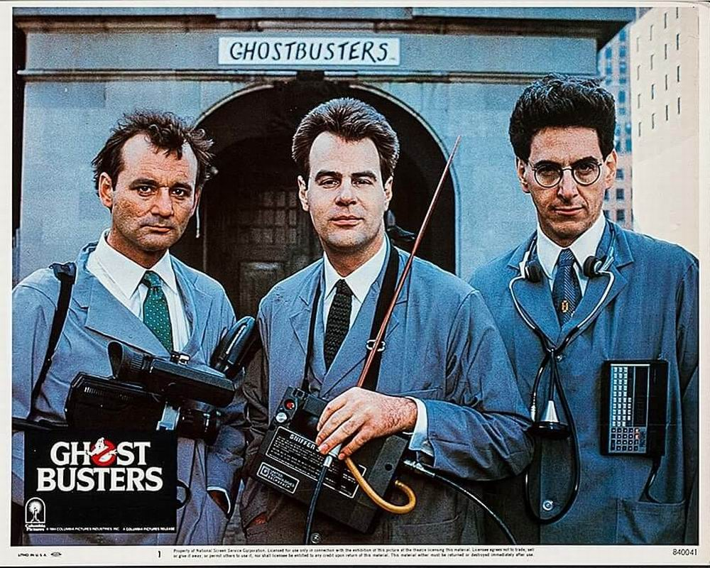 100 Years Of Cinema Lobby Cards Ghostbusters 1984