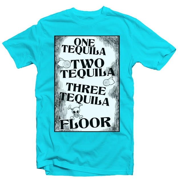 tequila tshirt design