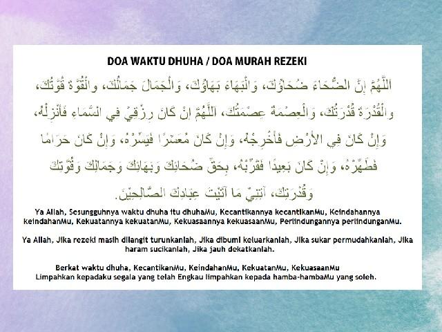 Doa makbul