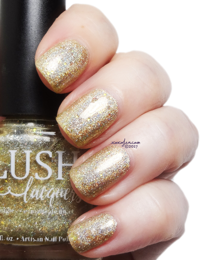 xoxoJen's swatch of Blush Lacquer: A Moon Across The Sea