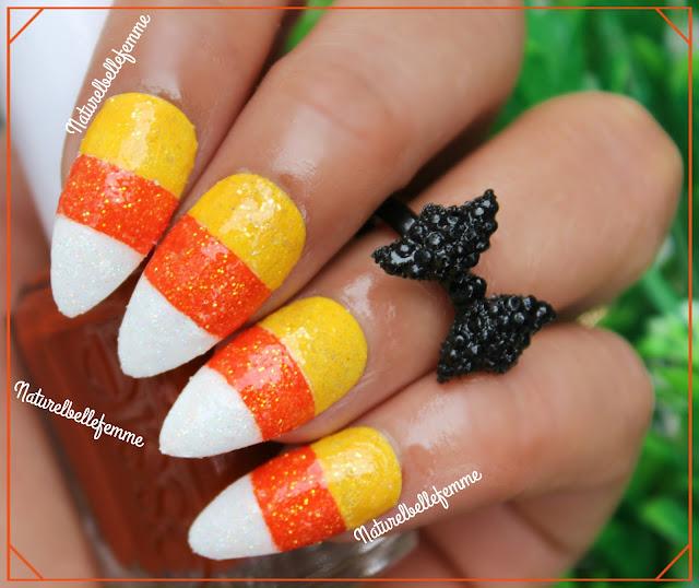 halloween manicure idea