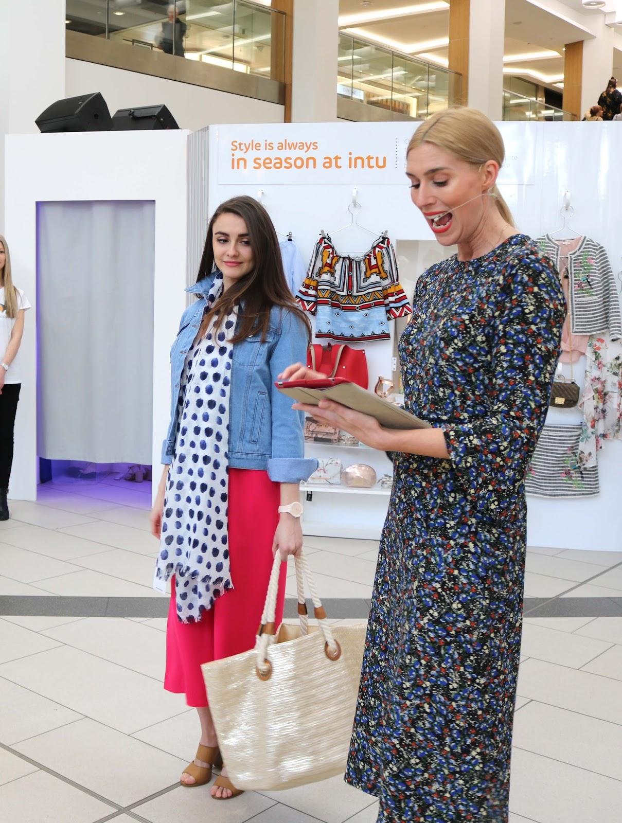 Intu Victoria Centre, Nottingham, fashion week, fashion, event, lifestyle,SS17, stripes, floral, style,