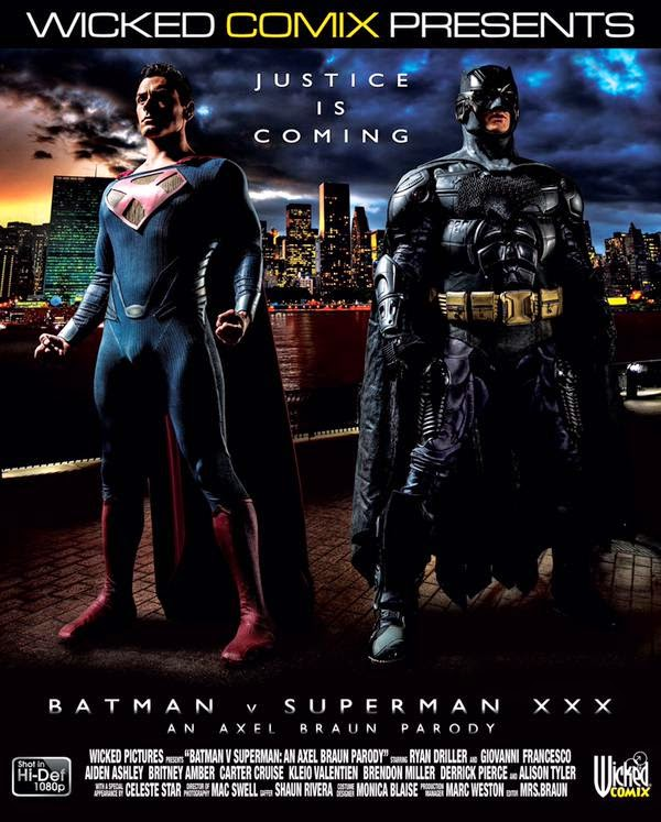 Batman v Superman XXX getting porn makeover ahead of release