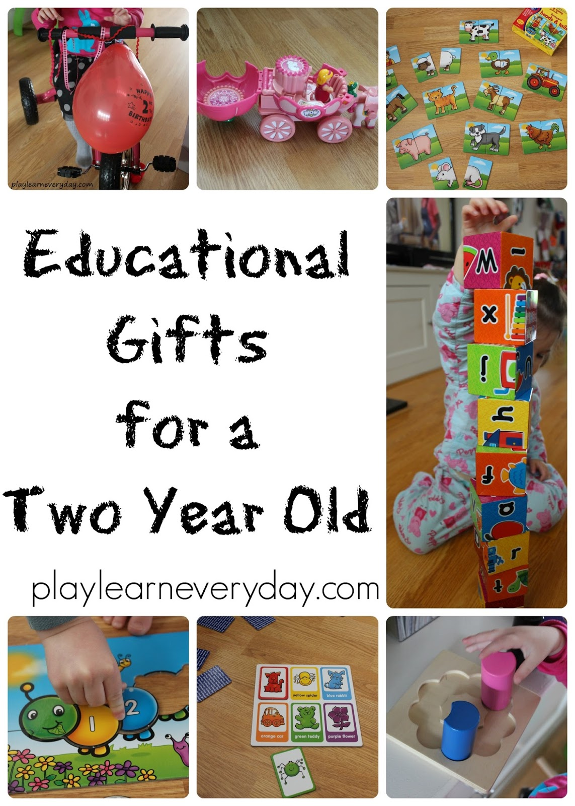 educational gifts for a two year old play and learn every day - 2 Year Old Christmas Ideas