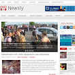 Newsly Blogger Template - ZoomTemplate