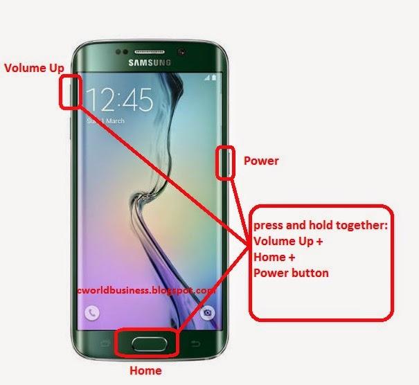 Samsung Edge Reset