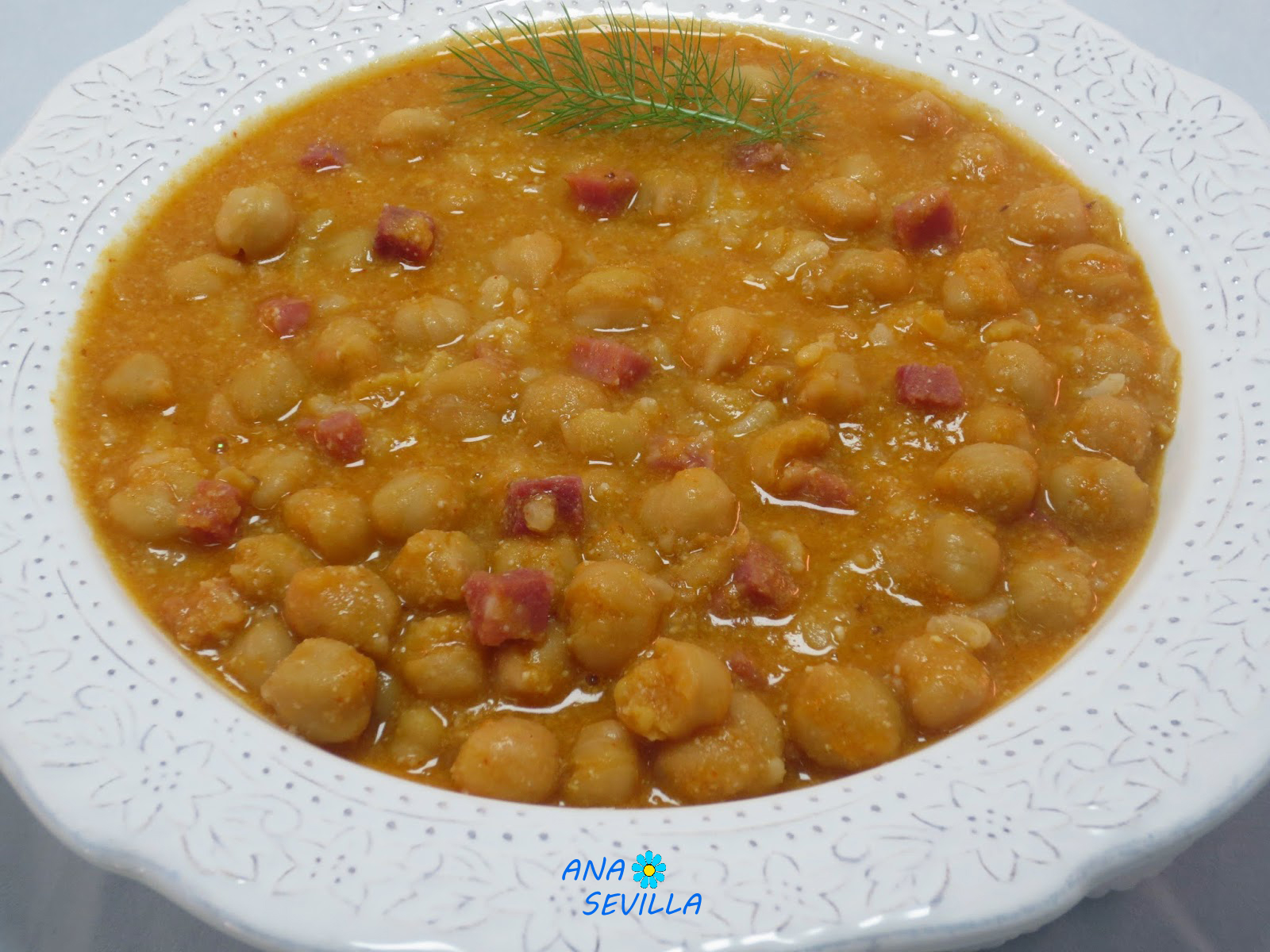 Garbanzos con arroz olla gm - Potaje garbanzos con arroz ...