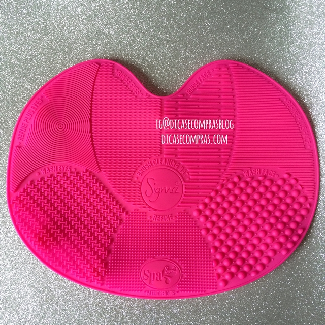 Resenha: Sigma SPA® Brush Cleaning Mat - AliExpress