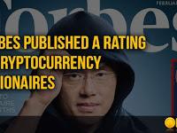 FORBES : Terbitkan Daftar Orang-Orang Terkaya Dari Criptocurrency