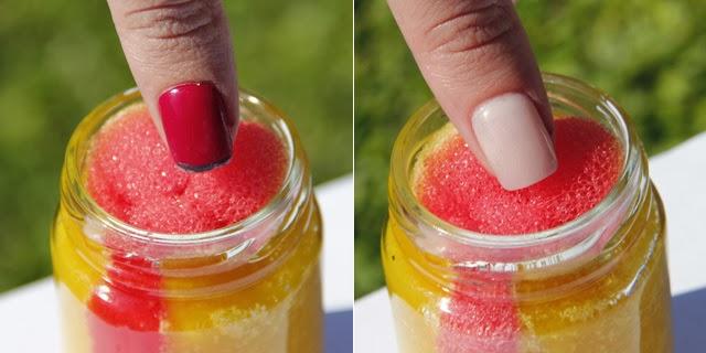 Como fazer removedor de esmalte com esponja