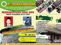 Desain Brosur Madrasah MTs Yasmida Ambarawa 2019
