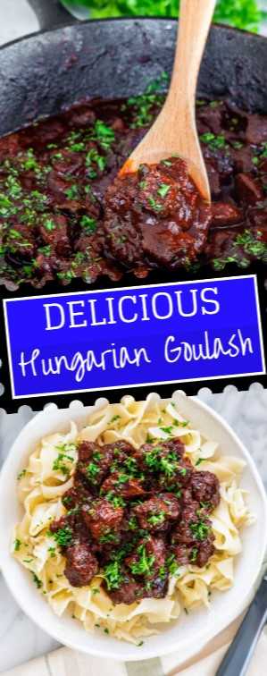 Delicious Hungarian Goulash