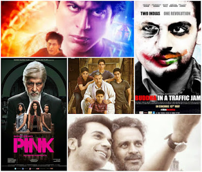 2016 Bollywood Top 10, Year End Listing, A Potpourri of Vestiges