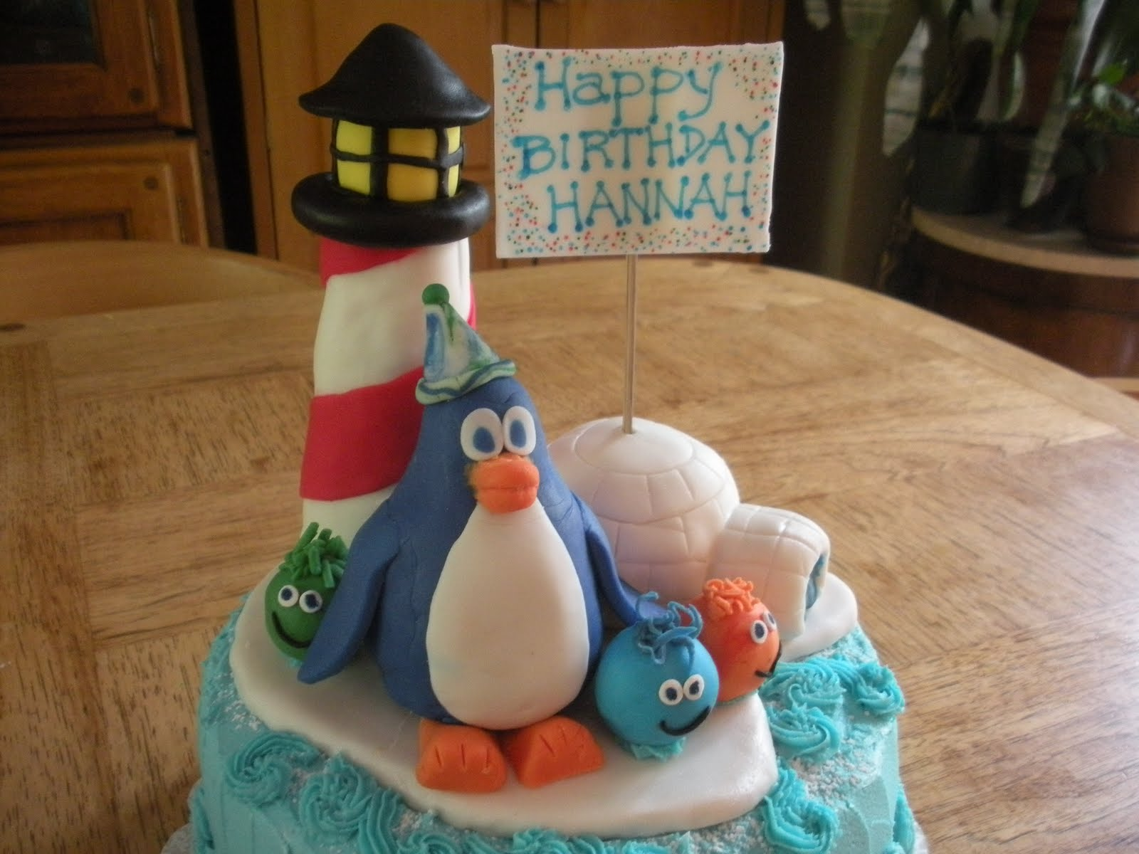 Loulew Cakes Club Penguin Birthday Cake