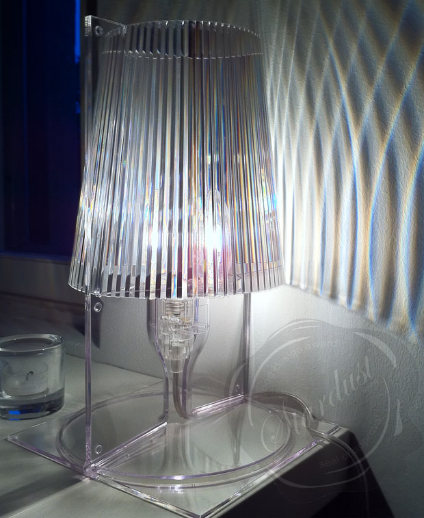 Take Lamp Crystal Clear Kartell