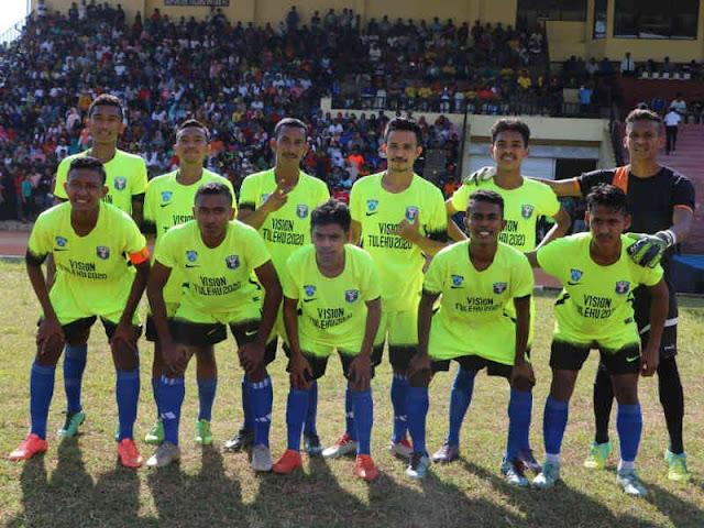 Pelauw Putra Juara Tournamen Sepakbola Millenial U23 Kapolda Maluku