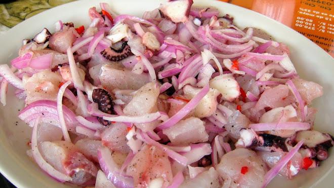 Ceviche façon créole (Lima, Pérou)
