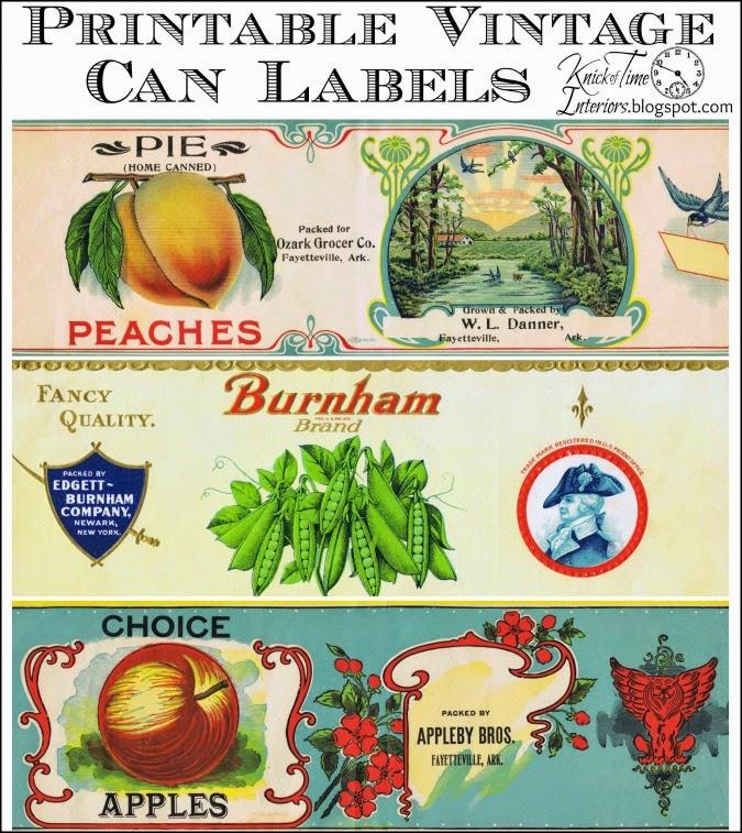 Vintage Mexican Food Label