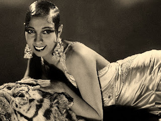 La bella Joséphine Baker, la primera gran estrella negra del cine.
