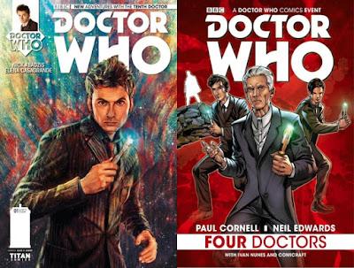 """Los cómics de """"Doctor Who"""" licenciados por Fandogamia"""