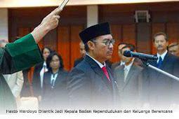 Hasto Wardoyo Dilantik Jadi Kepala Badan Kependudukan dan Keluarga Berencana (BKKBN)