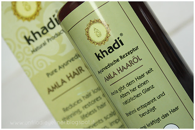 Review: Khadi - Olio di Amla