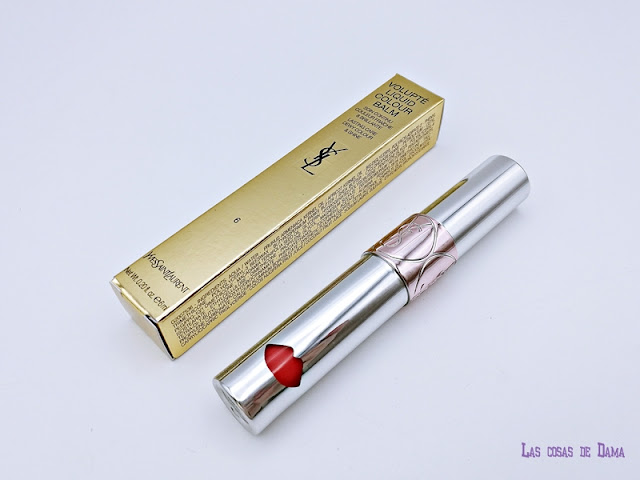 YSL Volupté Liquid Colour Balm  Undress Me Coral makeup beauty maquillaje labial liquido