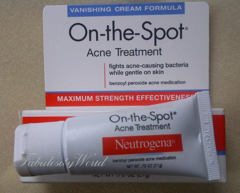 Fabulosity World Neutrogena S On The Spot Acne Treatment Reviews