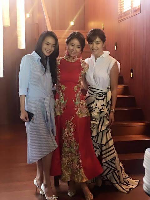 Ruby Lin Wallace Huo Bali wedding