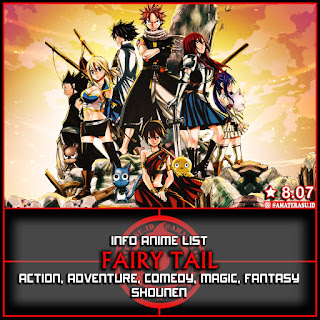 INFO ANIME LIST FAIRY TAIL ( INDO )
