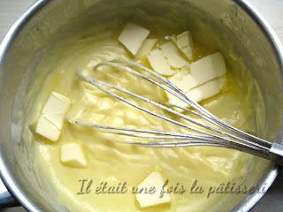 Crème patissière noix de coco