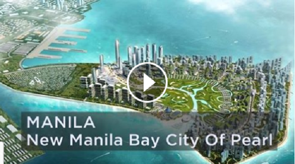 New Manila Bay City Of Pearl - Future Project of Pres. Duterte