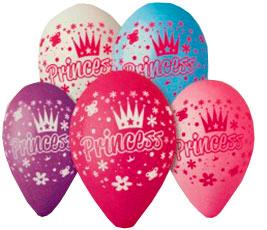 воздушный шарик с принцессами