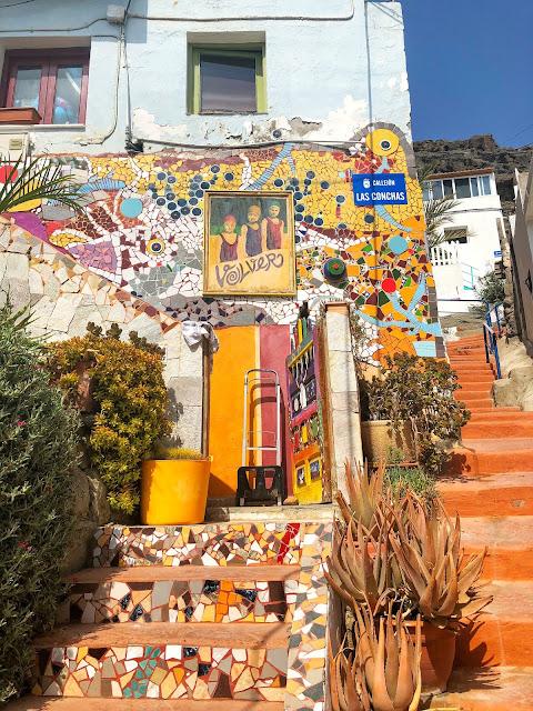 damazprowincji.blogspot.com, miasteczko portowe gran canaria, wyspy kanaryjskie