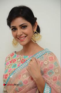 Actress Priyanka Bharadwaj Pictures in Saree at Mister 420 Press Meet  0005.JPG