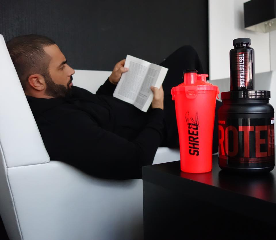 Lazar Angelov Shredz Supplements Alpha Male stack