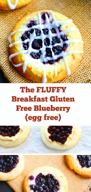 The FLUFFY Breakfast Gluten Free Blueberry (egg free) Recipe #fluffy #breakfast #blueberry #glutenfree #easybreakfast #healthybreakfast #eggfree #vegan #veganbreakfast #dough #dairyfree