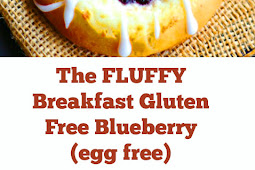 The FLUFFY Breakfast Gluten Free Blueberry (egg free) Recipe #fluffy #breakfast #blueberry #glutenfree #easybreakfast #healthybreakfast #eggfree #vegan #veganbreakfast #dough #dairyfree