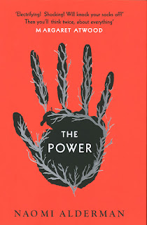 Book cover for Naomi Alderman's The Power in the South Manchester, Chorlton, and Didsbury book group