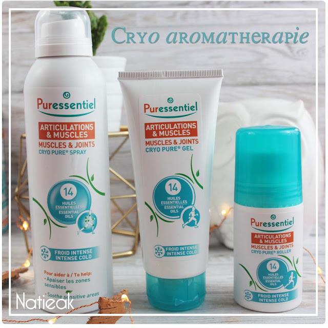 Cryo pur : Articulations et muscles en spray, gel et roller  de Puressentiel
