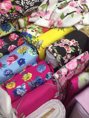 Thu mua vải thời trang tại cơ sở may mặc