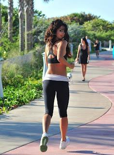 Apologise, sexy hot runner girl running