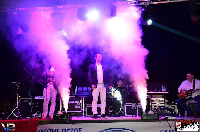 Σύσσωμο το Δημοτικό Συμβούλιο του Δήμου Άργους Μυκηνών στη μουσική εκδήλωση του Πανναυπλαικού