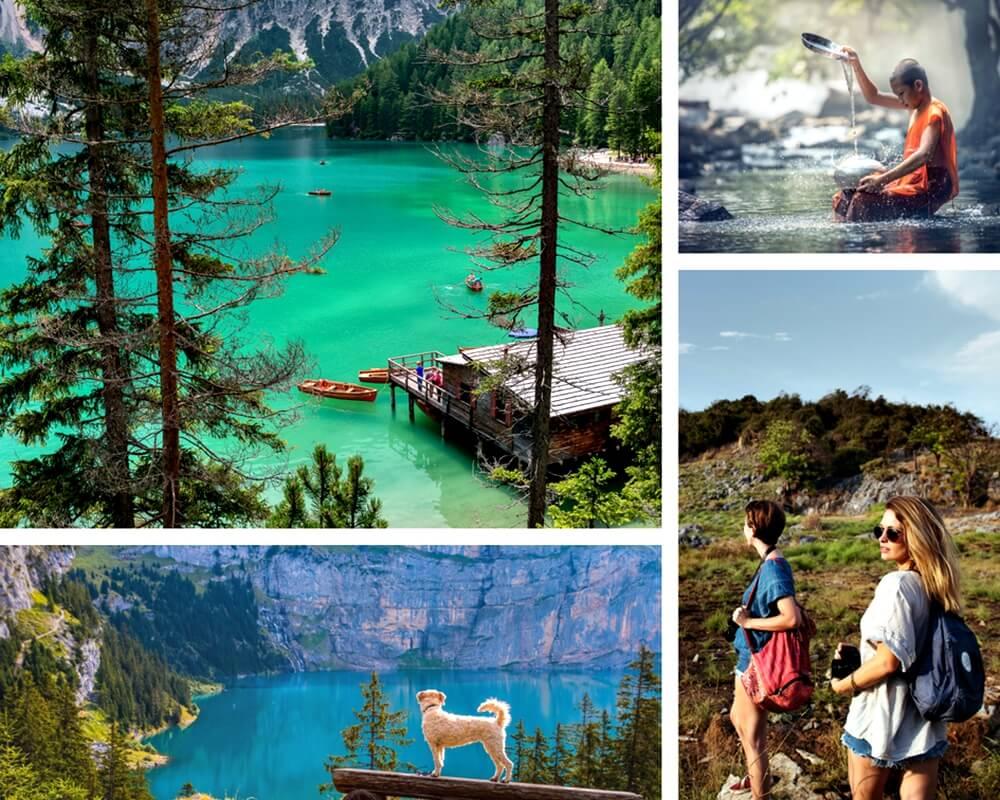 Vá além das áreas turísticas