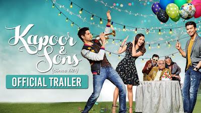 Kapoor & Sons Free Hindi HD Movies Download