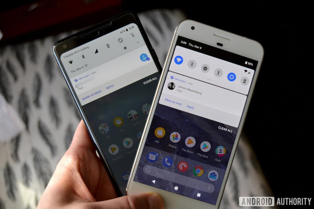 stock android ui vs custom ui