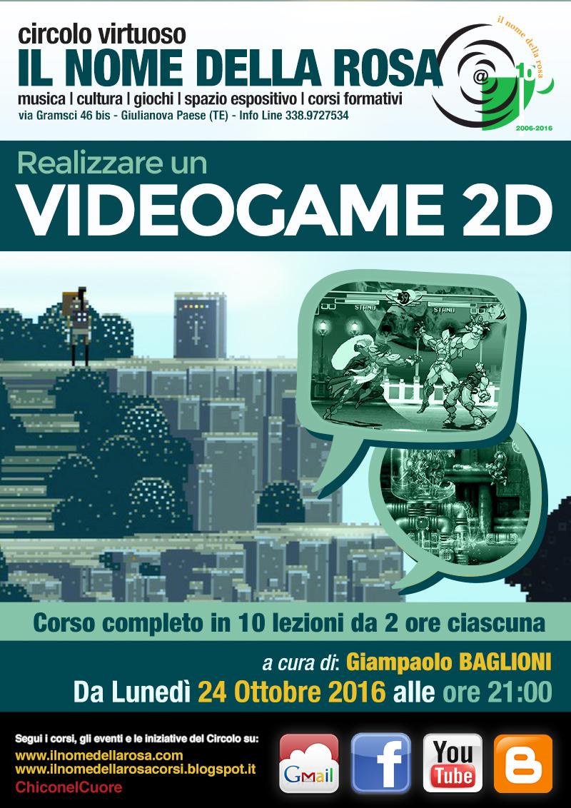REALIZZARE UN VIDEOGAMES 2D