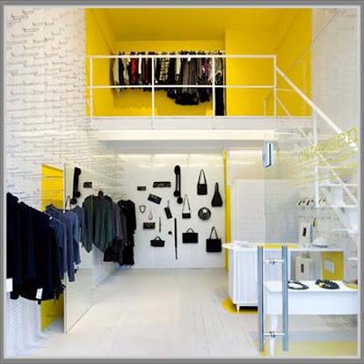 Desain toko baju minimalis
