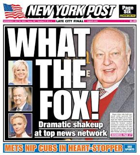 I bailed out of cesspool Fox News